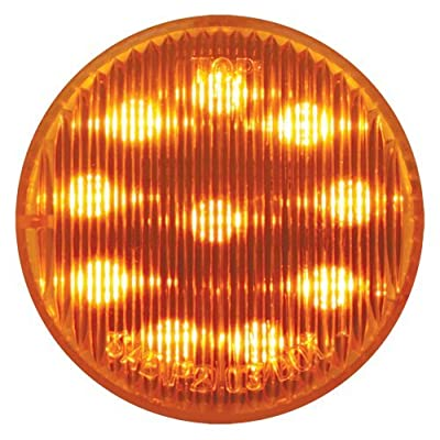 "Grand General 79280 Amber 2"" Round 10-LED Marker and Clearance Light: Automotive"