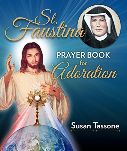 St. Faustina Prayer Book for Adoration cover