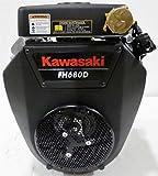 Kawasaki Horizontal 23 HP V-Twin Engine 1-1/8 X 3.94 #FH680D-FS01