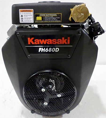 Kawasaki Horizontal 23 HP V-Twin Engine 1-1/8 X 3.94 #FH680D-FS01 by Kawasaki