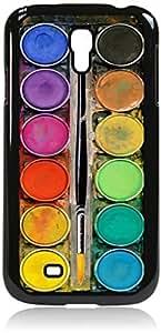 Art/Paint Box- Case for the Galaxy S4 i9500 -Hard Black Plastic Case