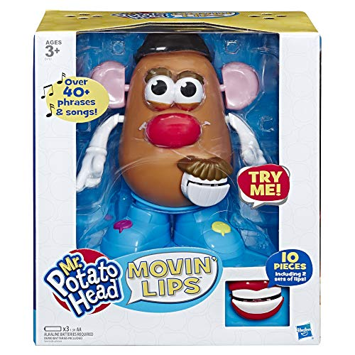 Potato Head Playskool Mr Movin' Lips Electronic Interactive Talking Toy for Kids Ages 3 & Up