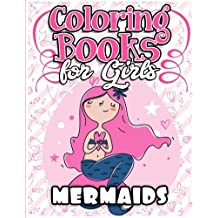 Coloring Books For Girls Mermaid The Really Best Relaxing Colouring