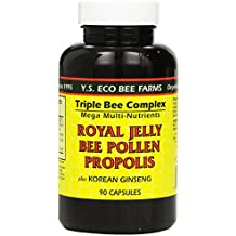 YS Organic Farms: Royal Jelly Bee Pollen Propolis w/ Ginseng 90 ct