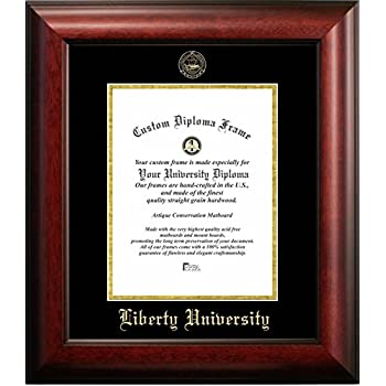 Amazon.com - Liberty University Graduation Diploma Frame (14 X 17 ...
