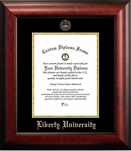Liberty University Graduation Diploma Frame (14 X 17) Vertical