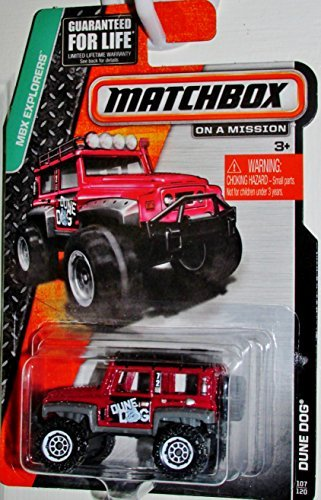 Matchbox MBX Explorers - Dune Dog 107/120 (Hot Dog Truck Toy compare prices)