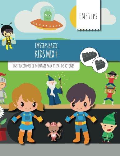 EMSteps Basic Kids Mix 4: Instrucciones de montaje para piezas de botones (Volume 4) (Spanish Edition)