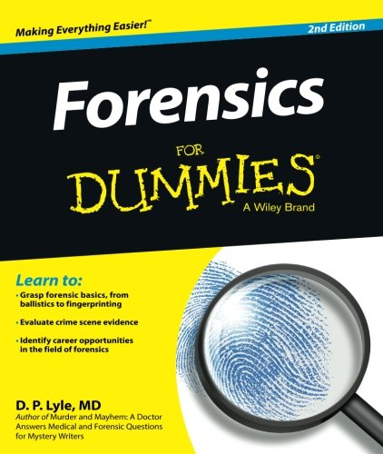 2nd Edition Scene - Forensics For Dummies