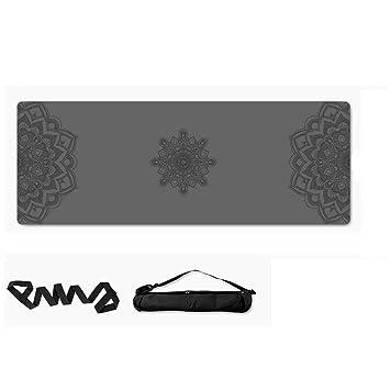 Estera de Yoga Antideslizante Caucho Natural 5mm Deportes ...