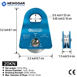 NewDoar Micro Mobile Single Pulley,20kN