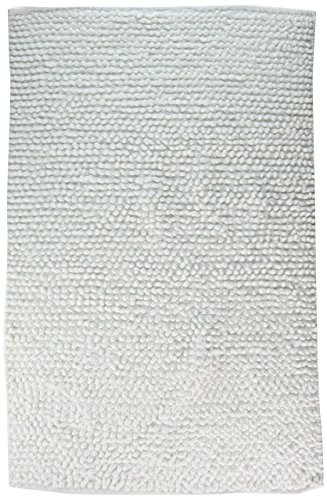 Jovi Home 100-Percent Cotton Chantilly Chenille Bath Mat, 20 by 30-Inch, White high-quality