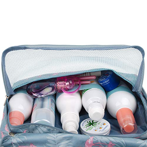 Hanging Travel Toiletry Bag Cosmetic Make up Organizer for Women and Girls Waterproof…