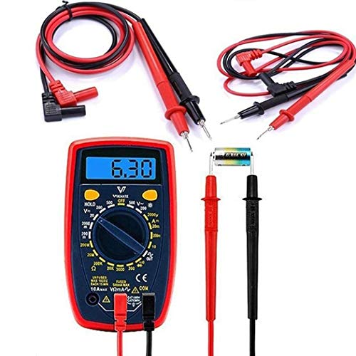 IEnkidu General Digital Multimeter Multi Meter Test Lead Probe Needle Wire Pen Cable 20A Linear Measurement Accessories