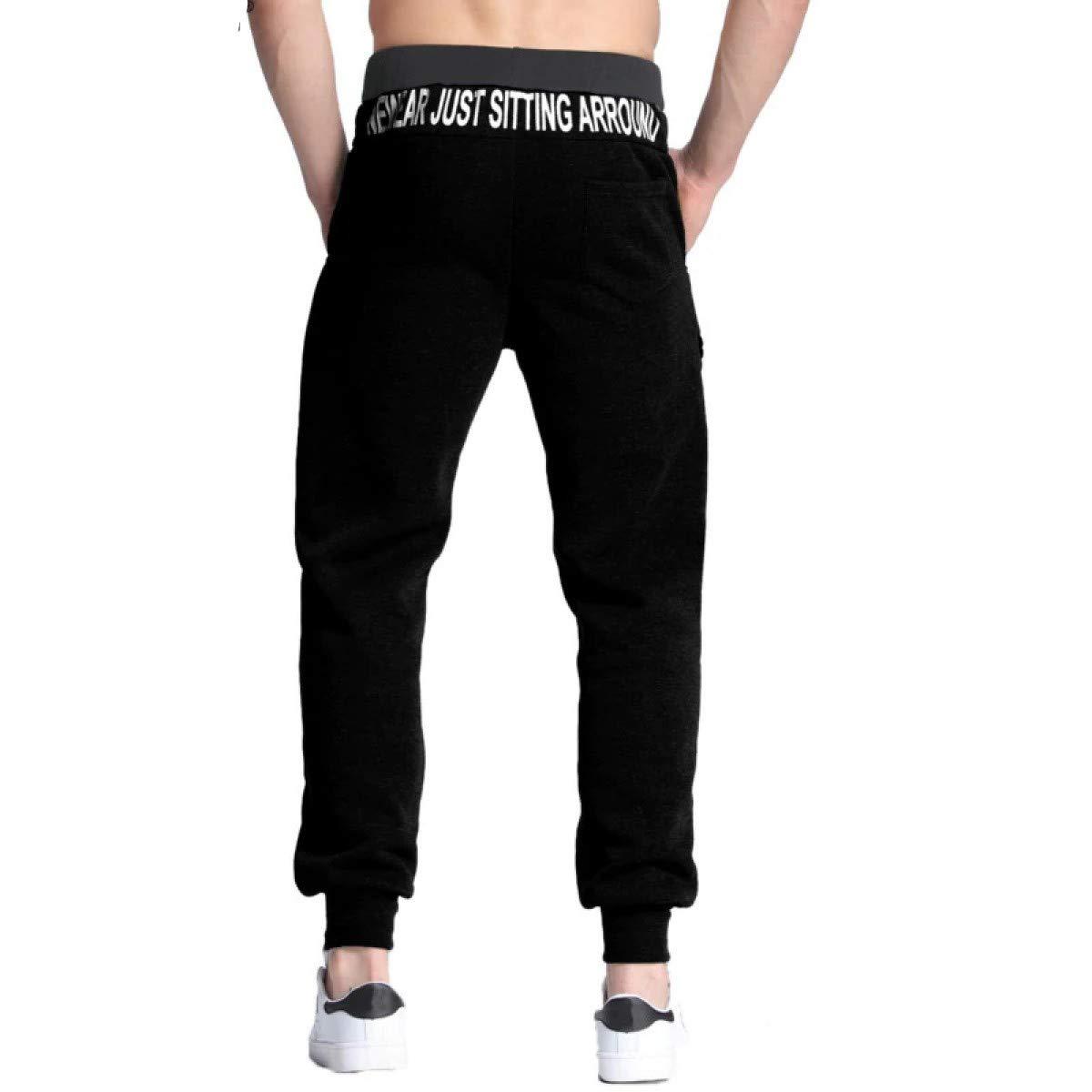 WEEKEND SHOP Men Sweatpants Fleece Hip-hop Joggers Trousers ...