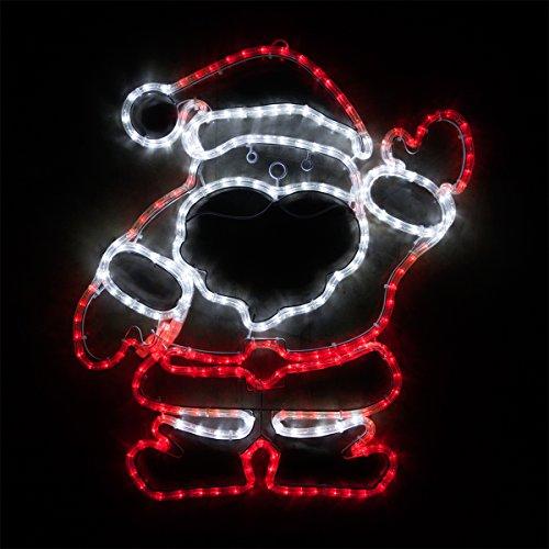 Outdoor Santa Rope Light in US - 3
