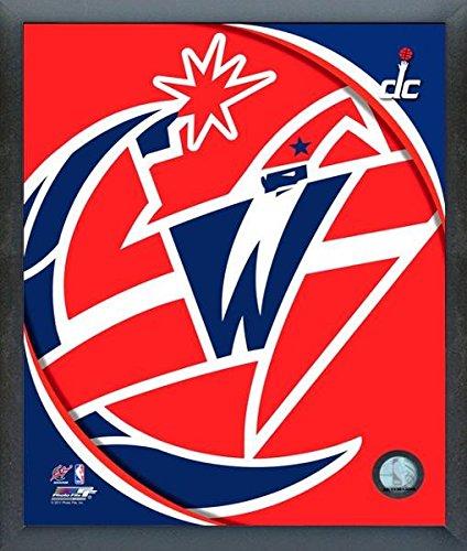 Washington Wizards Nbaチームロゴ写真(サイズ: 12 cm x 15 cm )フレーム   B015EUL9RI