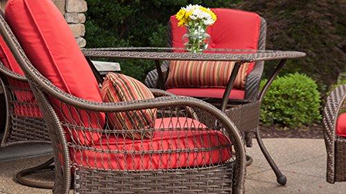 La Z Boy Outdoor Bristol Resin Wicker Patio Furniture