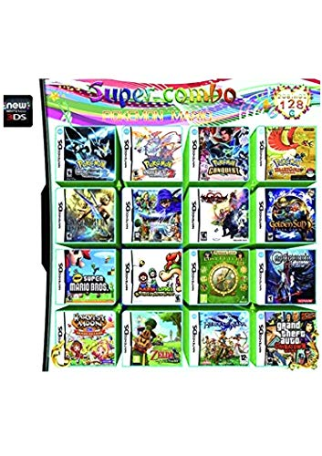 (208 In 1 Games Game Multi Cartridge For Nintendo DS NDS NDSL NDSi 3DS 2DS XL US)