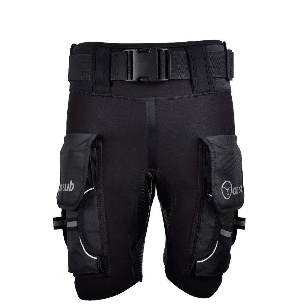 YONSUB Diving Wetsuit Shorts Neoprene Men Submersible D Ring Short Pants Mens Rubber Printed Technical Surf Snorkeling Equipment
