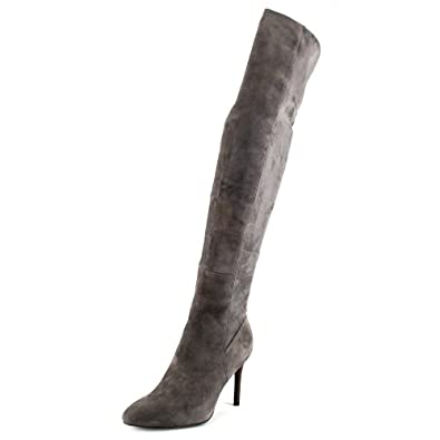Cole Haan Women's Emilee Over the Knee Boot (9.5, GRAY)
