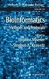 Bioinformatics Methods and Protocols, , 0896037320