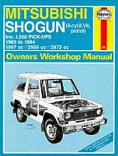 mitsubishi l200 owners manual handbook 2 4 litre 4g64 2 5 litre rh amazon co uk mitsubishi triton manual book pdf Volkswagen Amarok