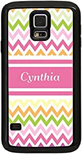 lintao diy Rikki KnightTM World's Greatest Aunt Pink Polka Dot Design iPhone 5 & 5s Case Cover (Black Rubber with bumper protection) for Apple iPhone 5 & 5s