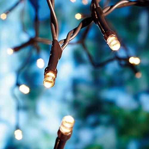 Solar Patio String Lights Walmart: 200 LED Waterproof For Garden