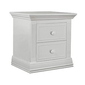 Sorelle Providence Nightstand, White
