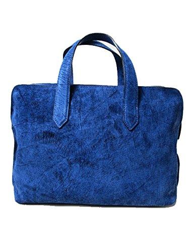 PG8(ピージーエイト) ビジネスバッグ ブリーフケース ブルー/青 藍染め ヒッポベビー/幼カバ革 メンズ バッグ #pg8pg69-in B00ZUEWPLI