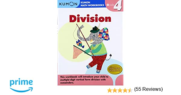 Grade 4 Division (Kumon Math Workbooks): Kumon Publishing ...