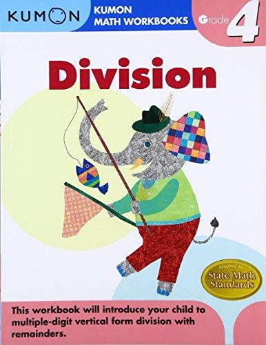 Grade 4 Division (Kumon Math Workbooks) (Division Book)