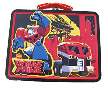 16e16a1bfd3a Amazon.com: Transformers Metal Boys Tin Lunch Box: Baby