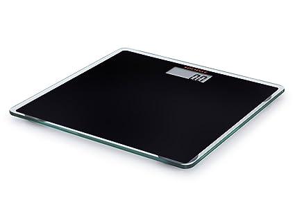 Soehnle 63559 Gld Slim Design - Báscula digital de baño, color negro: Amazon.es: Hogar