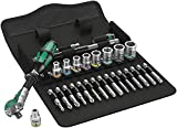Wera 05004016001 8100 SA 6 Zyklop Metric Speed Ratchet Set, 28 Piece, 1/4'' Drive