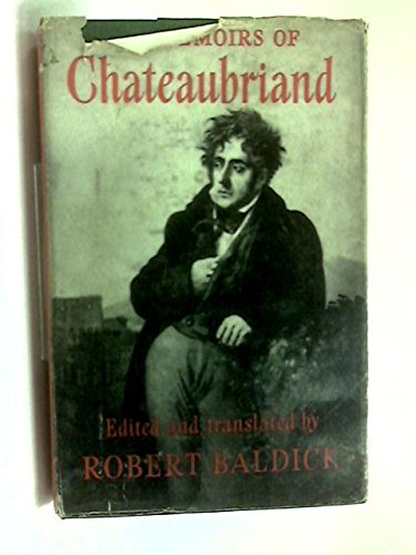 The memoirs of Chateaubriand