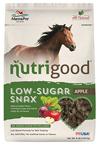 NutriGood Low-Sugar Snax for Horses, (Manna Pro Horse)