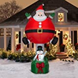 Airblown Inflatable-Santa Hot Air Balloon Ride-Giant by Gemmy Industries