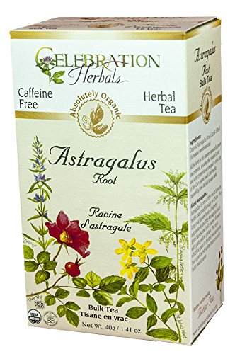 Celebration Herbals Organic Caffeine Astragalus