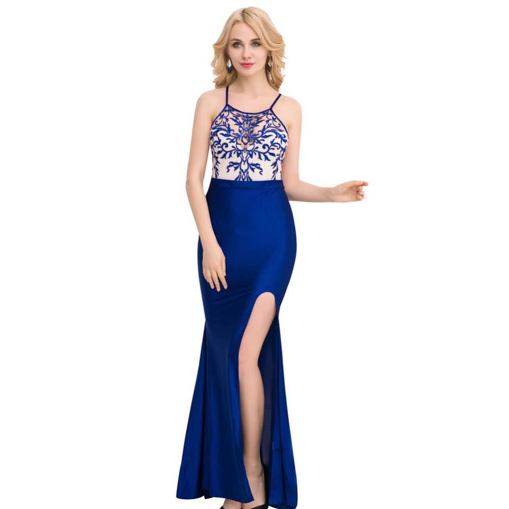 Conjuntos De Lencería para para Lencería Mujer Ropa Erótica Azul Nueva Perspectiva Sexy Banquete Vestido De Noche De Encaje Falda Larga Ropa Interior Erótica 22cf70