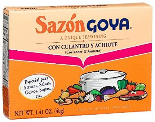 Goya Sazon Cilantro-achiote Seasoning 1.41 Oz (6 Pack)