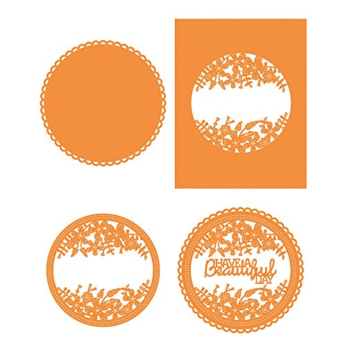 TONIC STUDIOS 1227E Have A Beautiful Day Sew Pretty Circle Frame by TONIC STUDIOS
