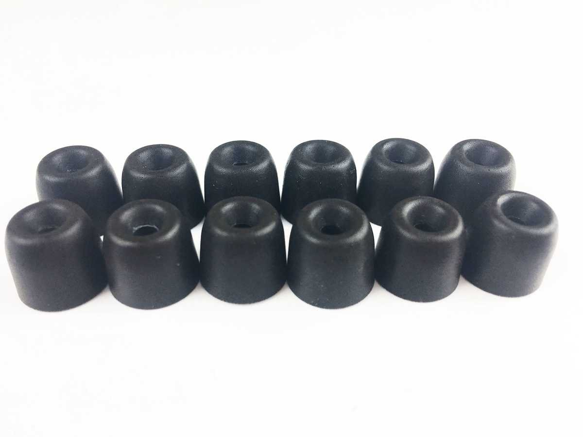 Moyen M Embouts D/écouteurs Embouts /Écouteurs Mousse /à M/émoire de Forme pour Shure SE215 SE110 SE115 SE530 SE535 LG Tone HBS-1000 Westone UM1 UM2 UM3 /Ø2,5mm 6 Paires