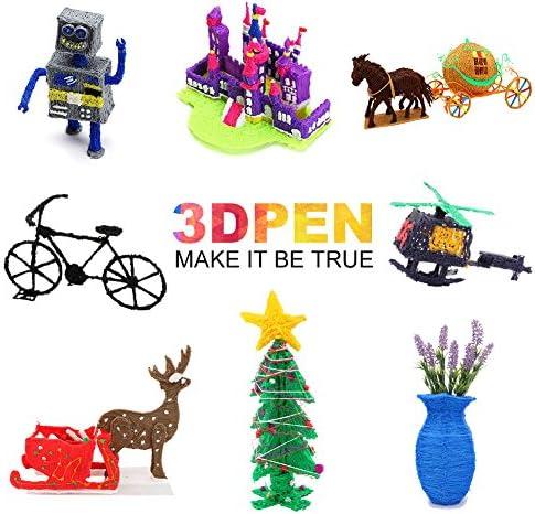 Lapiz 3D, 3D Pen con Interfaz del USB INKERSCOOP Pluma 3D para ...