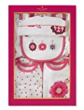 Kate Spade Seven Piece Starter Set,Baby Girls,3 Months,Pink/Multi