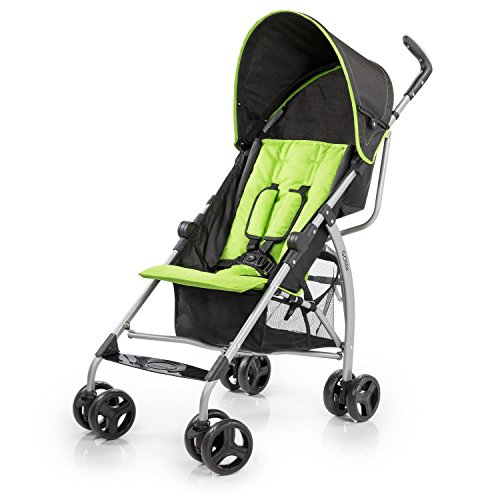 Green Baby Stroller - 7
