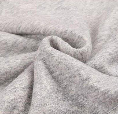 Cappuccio Donna Hoodie Sciolto Tasca Newlife Tops Invernali grigio1 Manica Cappuccio Felpe Lunga Sweatshirt Pullover con 1Uaq7