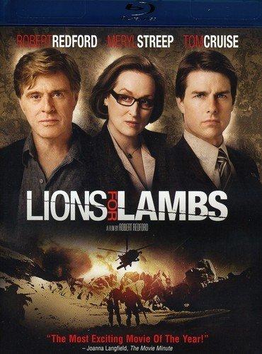 Amazon.com: Lions for Lambs [Blu-ray]: Peter Berg, Kevin Dunn, Meryl  Streep, Tom Cruise, Robert Redford, Michael Pea, Derek Luke, Andrew  Garfield, Christopher Carley, Michael Pena, Robert Redford: Movies & TV
