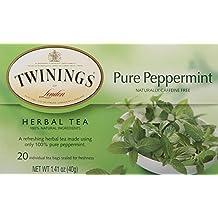 Twinings Pure Peppermint Herbal Tea, 1.41 Ounce